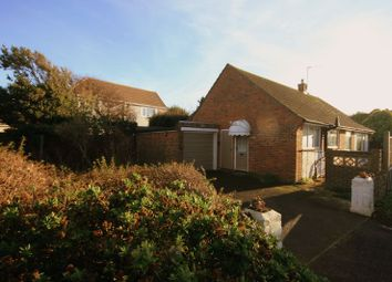 Thumbnail 3 bedroom detached bungalow for sale in The Bridgeway, Selsey, Chichester