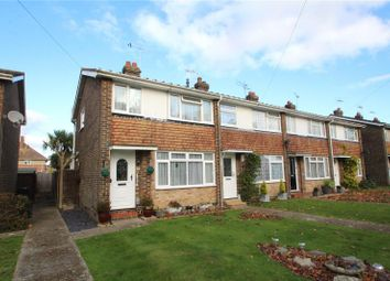 Thumbnail 3 bed end terrace house for sale in Walton Close, Worthing, West Sussex