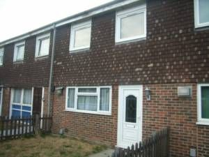 Thumbnail 3 bed terraced house to rent in Claridge Road, Chadwell Heath / Dagenham