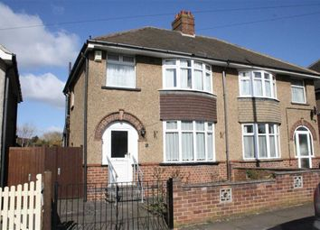 Thumbnail 3 bed semi-detached house for sale in Savernake Road, Leicester