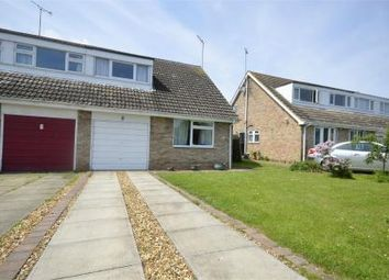 Thumbnail 3 bed semi-detached house for sale in Webb Road, Raunds, Northamptonshire