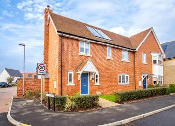 Thumbnail 4 bed semi-detached house to rent in Burns Way, Thaxted, Dunmow