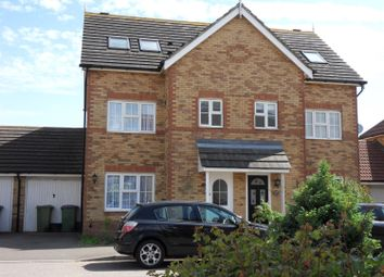 Thumbnail 4 bed terraced house to rent in Pannell Drive, Hawkinge, Folkestone, Kent