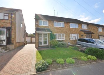 Thumbnail 3 bed semi-detached house to rent in Charlwood Road, Luton