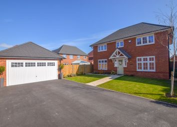 Thumbnail 4 bed detached house for sale in Rosewood Close, Ledsham