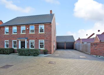 Thumbnail 4 bed detached house for sale in Little Blakelands, Marston Moretaine, Bedford