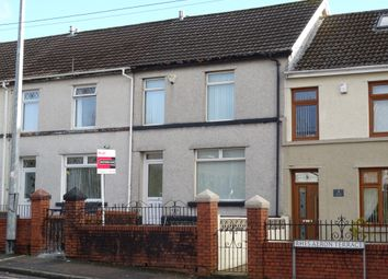 Thumbnail 3 bed terraced house to rent in Aeron Terrace, Twynyrodyn