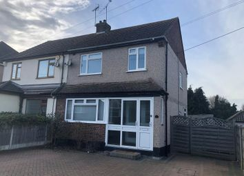 Thumbnail 3 bed semi-detached house to rent in Perry Street, Billericay, Essex