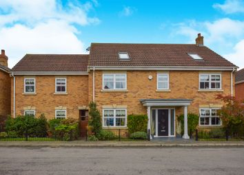 Thumbnail 6 bed detached house for sale in Cosway Place, Grange Farm, Milton Keynes