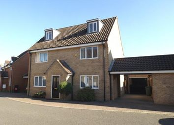 Thumbnail 5 bed detached house for sale in Hethersett, Norfolk