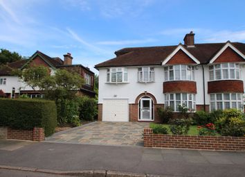Thumbnail 4 bedroom semi-detached house to rent in Cambridge Avenue, New Malden, Surrey