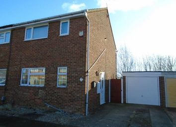 Thumbnail 3 bedroom semi-detached house to rent in Whitebeam Close, Kempston, Bedford