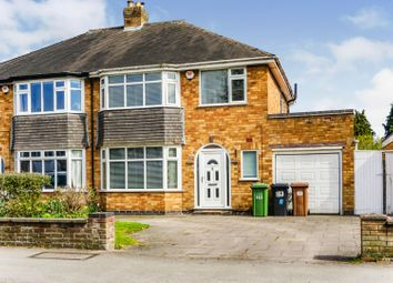 3 bed semi-detached house for sale in Longmore Road, Solihull B90