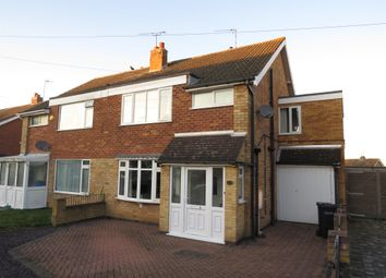 Thumbnail 4 bedroom semi-detached house for sale in Wickham Road, Oadby, Leicester