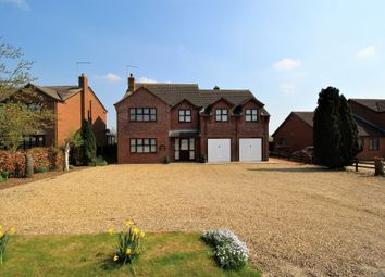 Thumbnail 4 bed detached house for sale in Dowsdale Bank, Whaplode Drove, Spalding, Lincolnshire