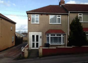 Thumbnail 3 bed end terrace house to rent in Gilbert Road, Kingswood, Bristol
