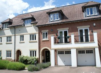 Thumbnail 4 bedroom terraced house for sale in Goodacre Close, Weybridge, Surrey