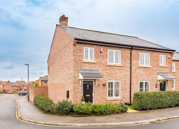 Thumbnail 3 bed semi-detached house for sale in 42 Crabtree Drive, Malton
