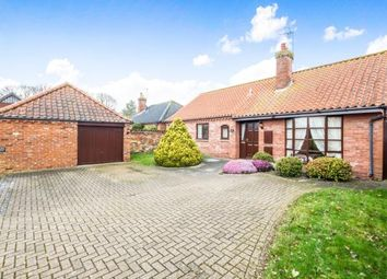 Thumbnail 2 bed bungalow for sale in Barnby, Beccles, Suffolk
