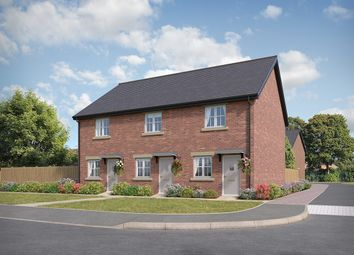 "Thumbnail 2 bed semi-detached house for sale in ""Hawthorn"" at Stoney Lane, Galgate, Lancaster"