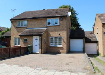 Thumbnail 2 bed semi-detached house for sale in Woodruff Avenue, Conniburrow, Milton Keynes