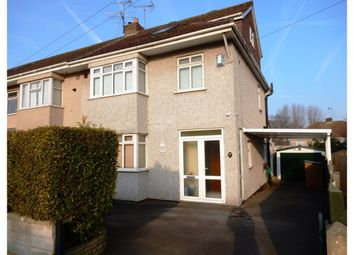 Thumbnail 4 bed semi-detached house for sale in Springfield Avenue, Mangotsfield