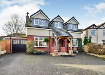 Thumbnail 4 bed detached house for sale in Whirley Road, Macclesfield, Cheshire