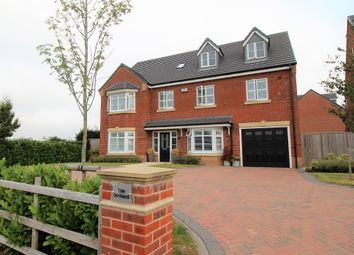 Thumbnail 6 bed detached house for sale in The Orchard, Church Lane, Corley