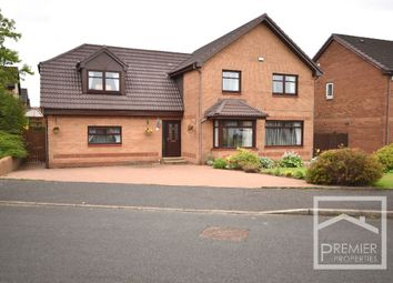 Thumbnail 4 bed detached house for sale in Armstrong Crescent, Uddingston, Glasgow
