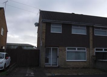 Thumbnail 3 bedroom semi-detached house to rent in Falcon Road, Barry
