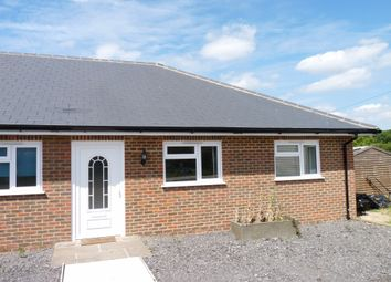Thumbnail 2 bed semi-detached bungalow to rent in Ide Hill Road, Bough Beech, Edenbridge