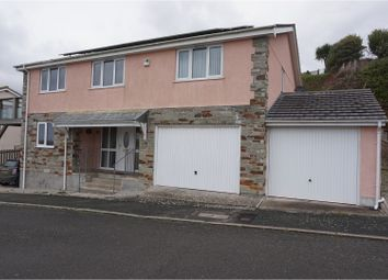 Thumbnail 4 bed detached house for sale in Whitsand Bay View, Portwrinkle, Torpoint