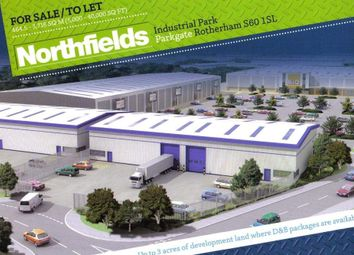 Thumbnail Industrial for sale in Northfields Industrial Park, Parkgate, Rotherham