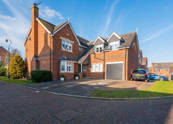 Thumbnail 5 bedroom detached house for sale in Foxglove Close, Grange Park, Northampton