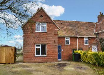 Thumbnail 4 bedroom semi-detached house for sale in Norwich Road, Pulham St. Mary, Diss