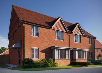 Thumbnail 4 bed semi-detached house for sale in Matthewsgreen Road, Wokingham, Berkshire
