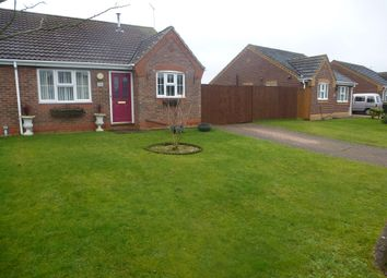 Thumbnail 2 bed semi-detached bungalow for sale in Mill Close, Wainfleet, Skegness