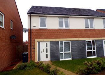 Thumbnail 3 bedroom semi-detached house for sale in Sternboro Park, Penshaw, Houghton Le Spring