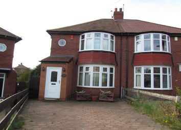 Thumbnail 2 bed semi-detached house to rent in Dene View, Gosforth, Newcastle Upon Tyne