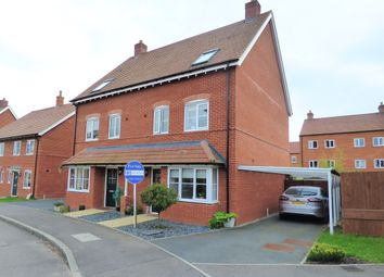 Thumbnail 4 bed semi-detached house for sale in Stedeham Road, Great Denham, Bedford