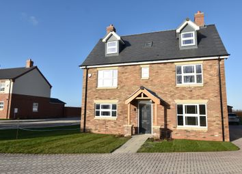 Thumbnail 5 bed detached house for sale in Plot 30 Alexander Park, Legbourne Road, Louth