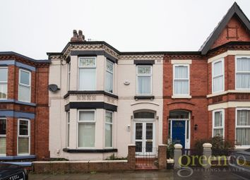 Thumbnail 4 bed terraced house to rent in Plattsville Road, Mossley Hill, Liverpool