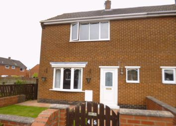 Thumbnail 2 bed end terrace house for sale in Jubilee Crescent, Shildon