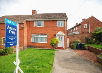Thumbnail 3 bed semi-detached house for sale in Milton Road, Whickham, Newcastle Upon Tyne