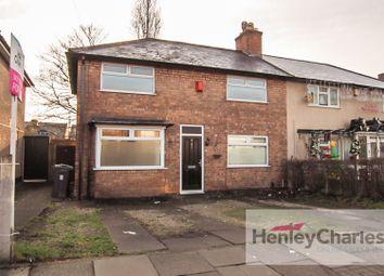 Thumbnail 3 bed terraced house for sale in Lambourn Road, Erdington, Birmingham