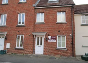 Thumbnail 3 bed town house to rent in Worle Moor Road, Weston-Super-Mare