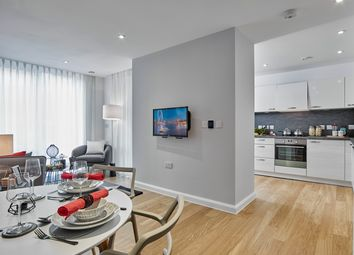 Thumbnail 3 bedroom flat for sale in Plot 40, Trinity Square, High Road, Finchley, London