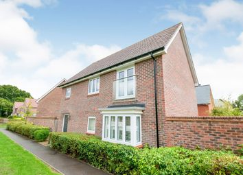 Siskin Close, Burgess Hill RH15. 4 bed detached house for sale