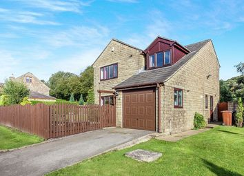 Thumbnail 4 bed detached house for sale in The Avenue, Hadfield, Glossop