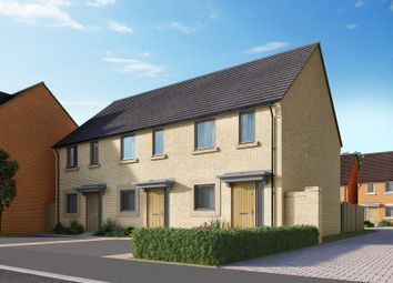 Thumbnail 2 bed semi-detached house for sale in The Boulevards, Station Road, Northstowe, Cambridge